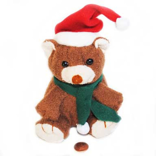 Mini Stuffed Animal Holiday Bear