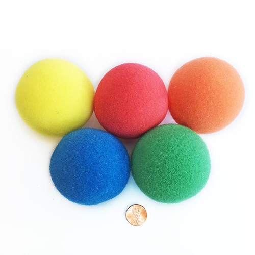 Multi-colored Sponge Balls
