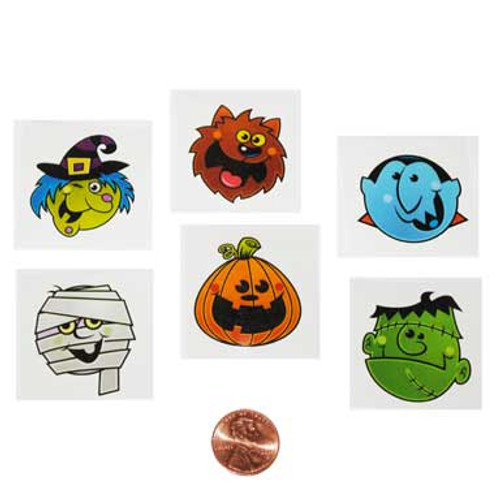 Halloween Removable Tattoos