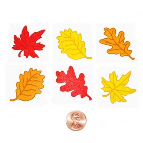 Fall Leaf Temporary Tattoos