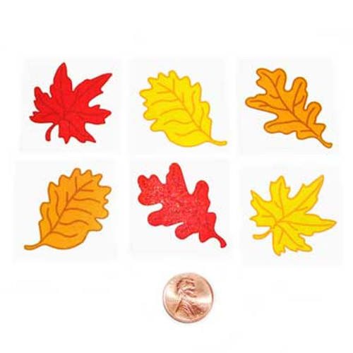 Fall Leaf Temporary Tattoos