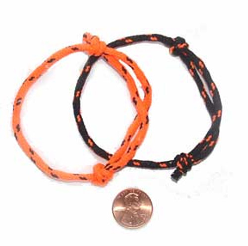 Black & Orange Rope Bracelets