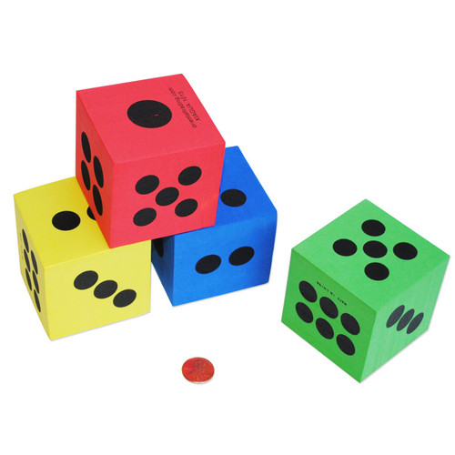 Large Foam Dice