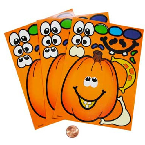 Make-a-Pumpkin Stickers