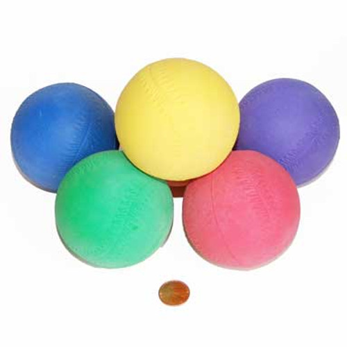 Colorful Rubber Baseballs for Carnival Games