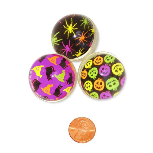 Halloween Bouncing Balls - Wholesale Small Halloween Toys