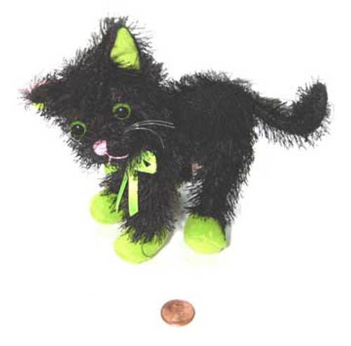Stuffed Halloween Cat Doll