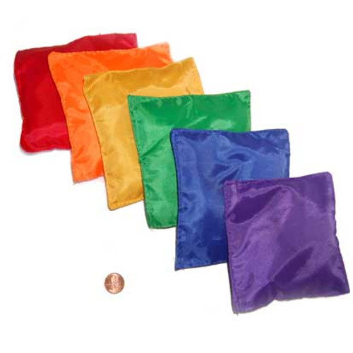 Colorful Bean Bags for Games