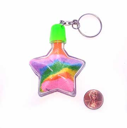 Carnival Booth Star Sand Art Bottle