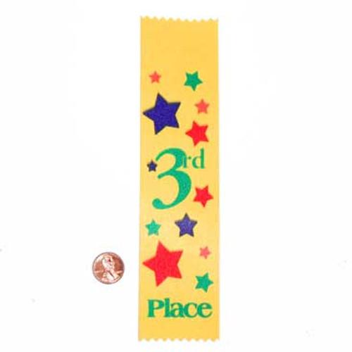 Third Place Satin Award Ribbon