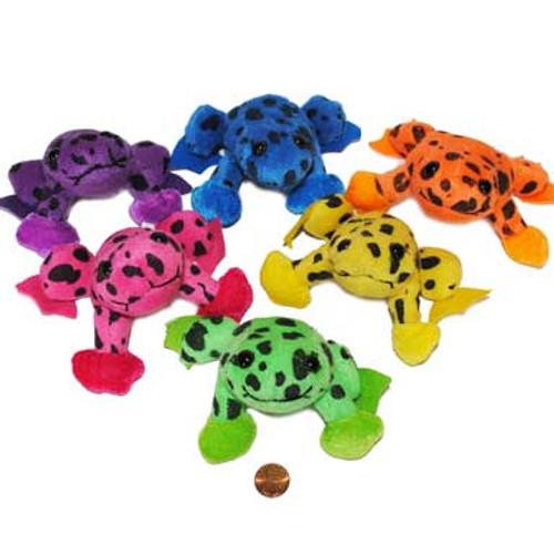 Mini Stuffed Spotted Tree Frog Toys