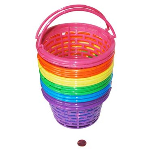 Small Plastic Basket with Handles