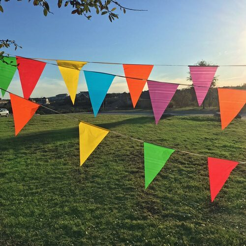 Wholesale Plastic Flags on a String - Plastic Pennant Banner Decoration