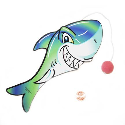 Shark Paddle Ball Toy