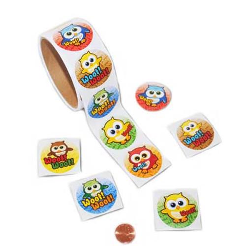 Owl Sticker Roll
