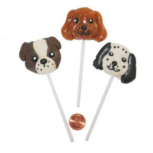 Puppy Dog Shaped Lollipops