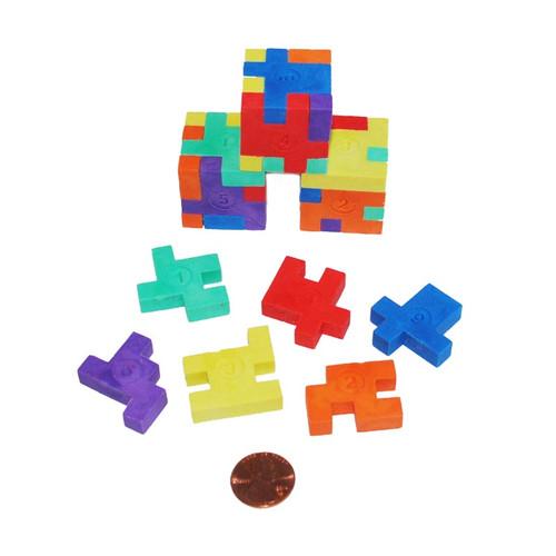 Mini Puzzle Erasers