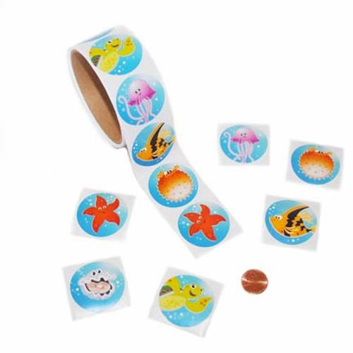 Sea Life Sticker Roll
