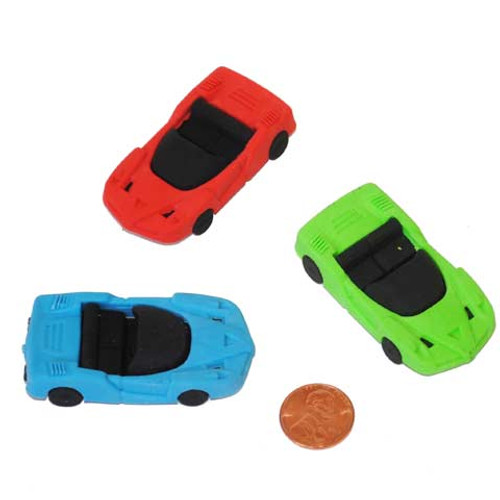 Car Shaped Erasers