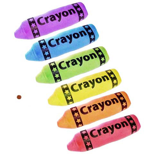 Stuffed Crayon Toy
