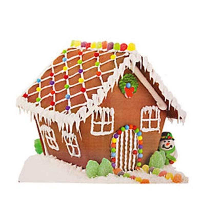 Gingerbread House Cardboard Christmas Decoration Holiday Fun