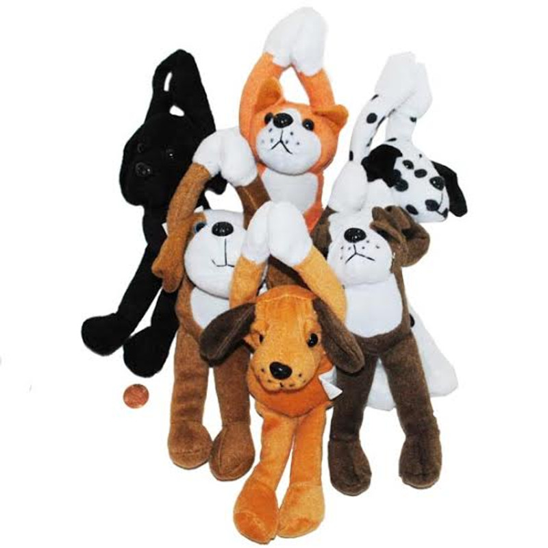 Super Soft Stuffed Animals For Babies, Plush Long Arm Dogs A Plush Best Friend
