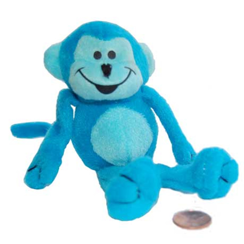 Super Soft Stuffed Animals For Babies, Stuffed Neon Monkey Top Monkey Carnival Prize