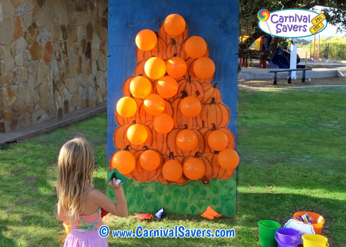 Miraculous Fall Festival Game Pop A Pumpkin No Darts Needed Onthecornerstone Fun Painted Chair Ideas Images Onthecornerstoneorg