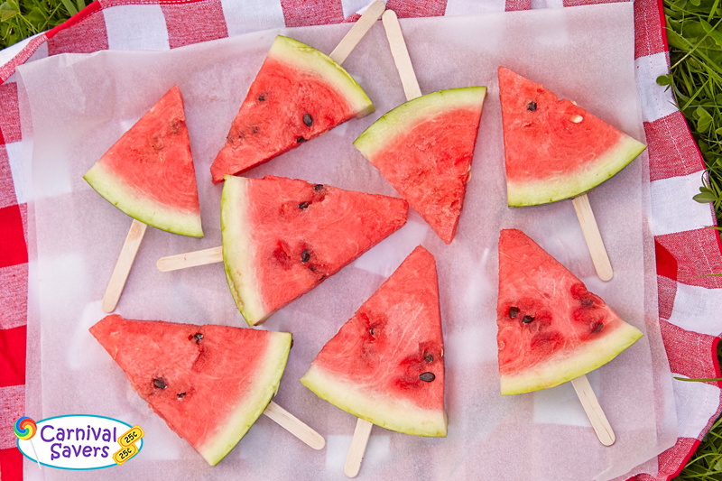 Image by Carnival Savers - watermelon natural popsicles for your next carnival event