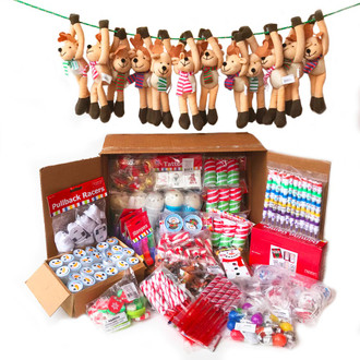 Christmas Toys.Holiday Stocking Stuffers Carnival Prizes 724 Bulk Toys Includes Stuffed Animals 27 Each