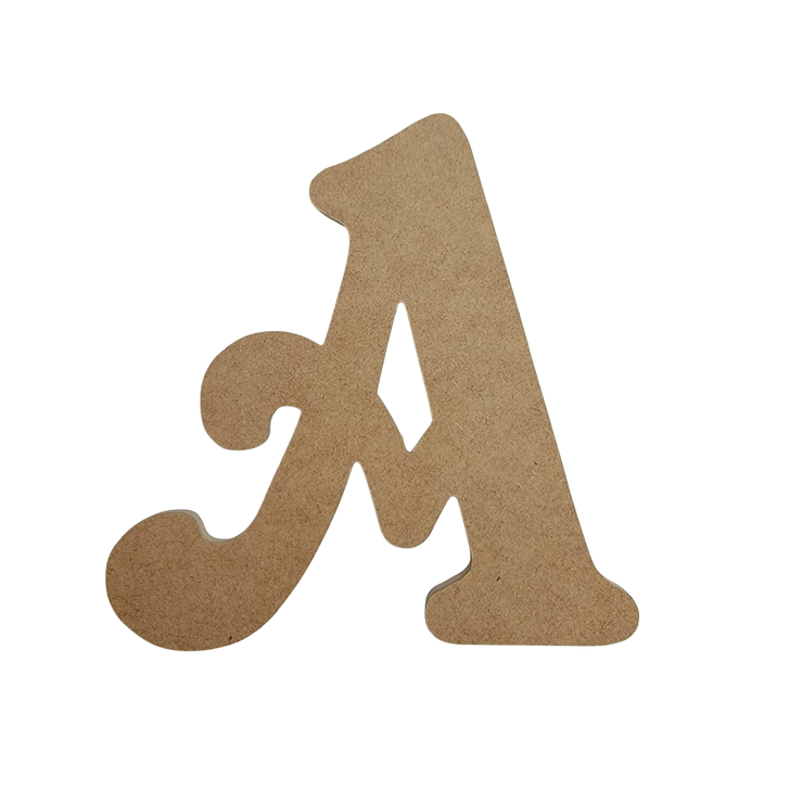 Beltorian Font Unfinished Wooden Craft Letters & Numbers, BAC Home