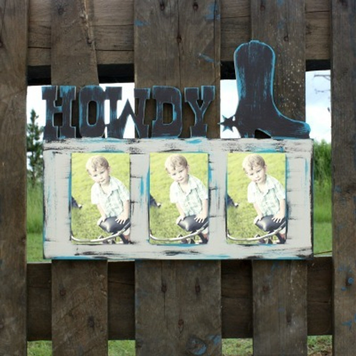 Painted Howdy Frame
