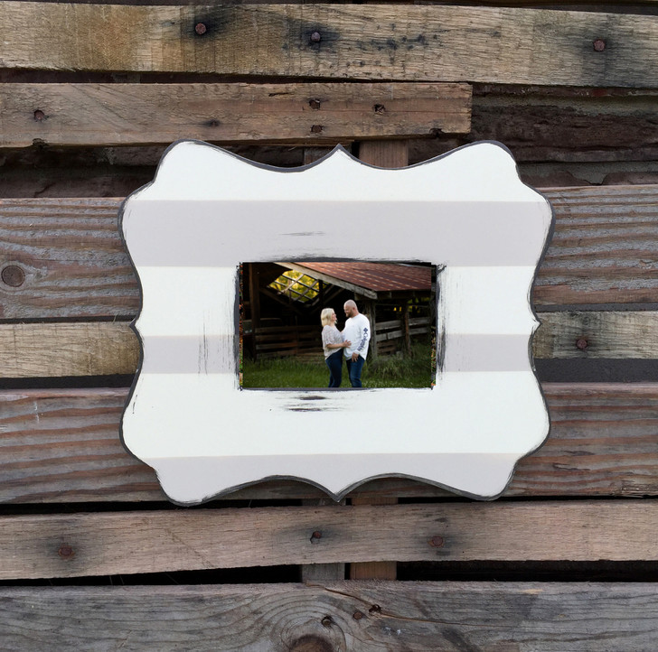 Painted Katie Wooden Picture Frame