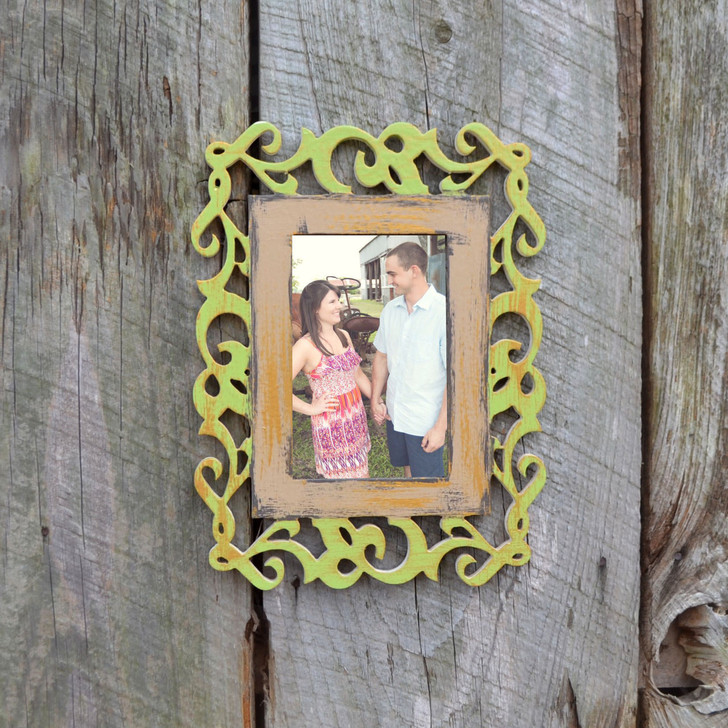 Painted Ivy Wooden Picture Frame