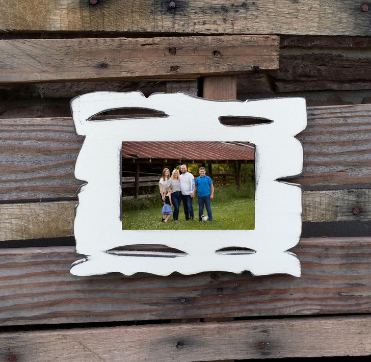 Painted Wood-Grain Wooden Picture Frame