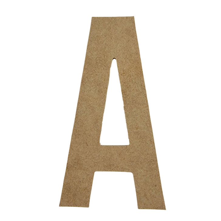 Bebas Neue Font Unfinished Wooden Craft Letters, BAC Home