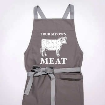 Twisted Wares - I Rub My Own Meat APRON