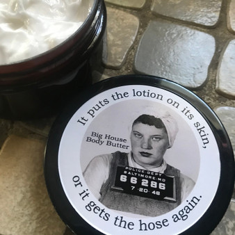 Big House Body Butter, It puts the lotion on... - Lemon Sugar