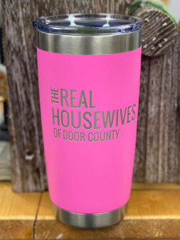 DC Housewives Tumbler - Pink
