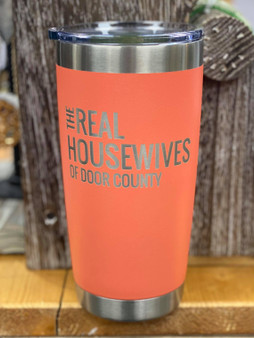 DC Housewives Tumbler - Coral