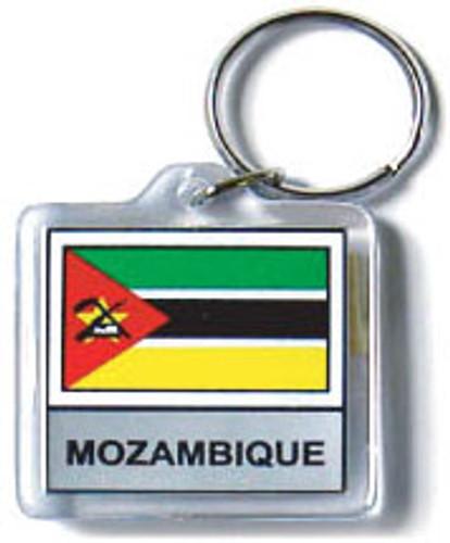 Mozambique Flag Key Chain
