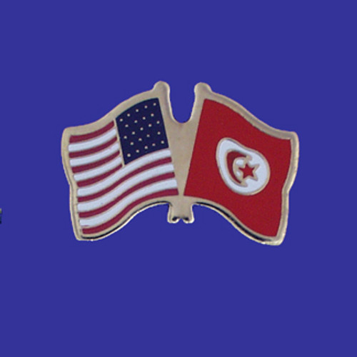 Tunisia Usa Flag Pin Buyldsproducts Com
