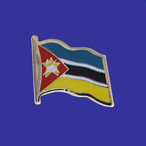 MOZAMBIQUE FLAG PIN