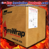 Unifrax Fyrewrap Elite 1.5 Grease Duct Insulation provides 1 and 2 hour fire ratings on commerical kitchen exhaust ductwork