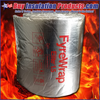 "Unifrax Fyrewrap Elite 1.5 Fire Blanket Duct Insulation Rolls are 1-1/2"" Thick x 24"" wide x 25 feet long."
