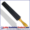 """Insulators prefer to use sharp knives, and the only way to keep a knife sharp is to sharpen it daily.  The 14"""" long carborundum sharpening stone has an easy grip contoured wooden handle."""