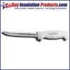 """Dexter Russell 6"""" Serrated Soft White Handled Knife"""