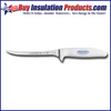 """Dexter Russel 5 1/2"""" Utility Serrated Soft White Handled Knife"""