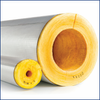 Fiberglass Pipe Insulation with ASJ Max Jacketing and SSLII Double Adhesive Closure System