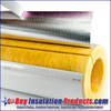 Fiberglass Pipe Insulation with ASJ Jacket w/SSL Lap Closure from Buy Insulation Products